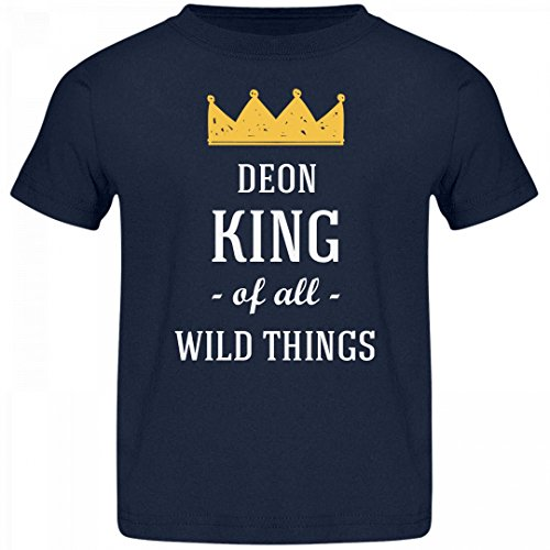 Deon King Of All Wild Things: Jersey Toddler T-Shirt