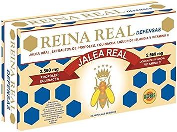 Oferta amazon: Robis Reina Real Defensas Jalea Real 2560 mg 20 Ampollas