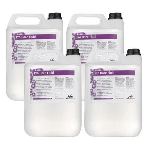 Martin Professional Pro Water Based Fog Fluid 2.6 liter 4-Pack (Martin Fog Machine)