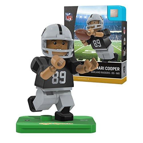 NFL Oakland Raiders Gen4 Limited Edition Amari Cooper Mini Figure, Small, White