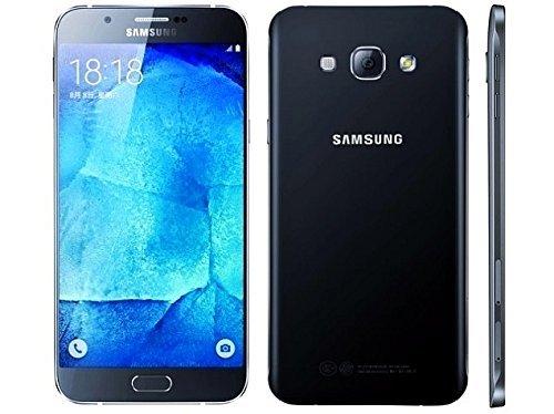 Cheap Unlocked Cell Phones Samsung Galaxy A8 SM-A8000 16GB Black, Dual Sim, 5.7