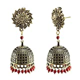Jaipurn Earrings Surya Jhumka