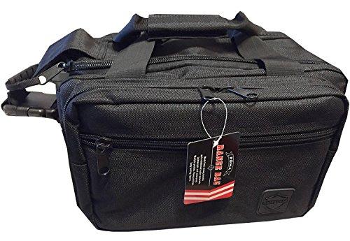 Roma Safeguard Deluxe Padded Tactical Lockable Range Bag + Bonus Pistol Case ()