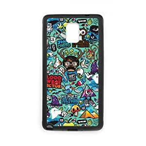 Samsung Galaxy Note 4 Phone Case for Abstract Cartoons Colorful pattern design GQ1042371