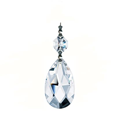 Amazoncom CrystalPlace Xlarge AAA Top Quality Clear Crystal - Teardrop crystals chandelier parts