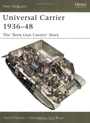 Universal Carrier 1936-48: The 'bren Gun Carrier' Story (New Vanguard) by David Fletcher (1-Jun-2005) (Universal Bren Carrier)