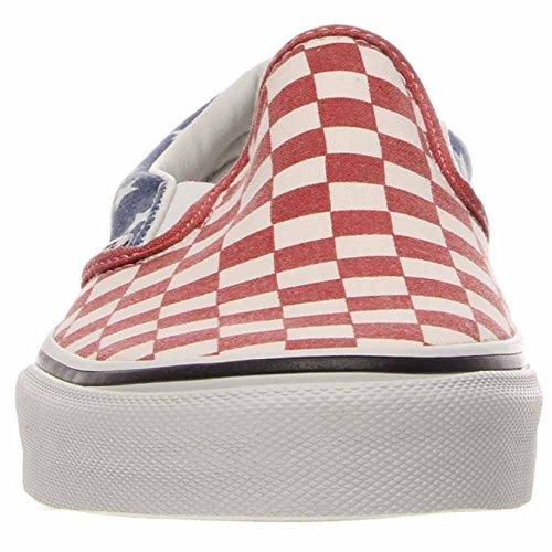 checkerboard on true White Slip Desert Sage Fall Vans Classic 2018 Stars zE8qXxBw