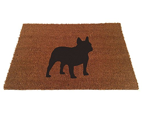 French Bulldog Silhouette Doormat (24