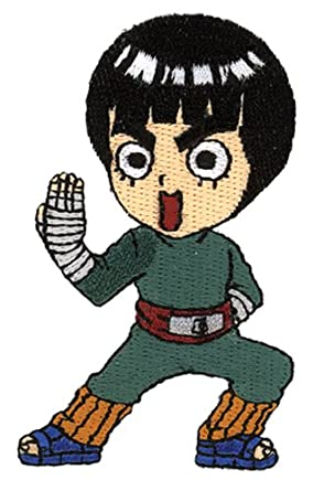Amazon Naruto Chibi Rock Lee Anime Patch Clothing