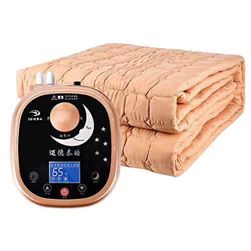 DWLINA 水毛布、ない放射線一定温度インテリジェント高品質配管毛布安全電気ピンセット,Kakhi+B,1.8*2M   B07K576S1H