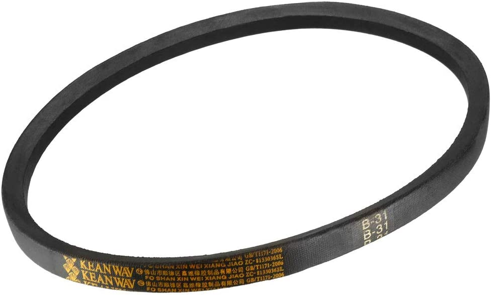 sourcing map A104 Drive V-Belt Girth 104-inch Industrial Power Rubber Transmission Belt