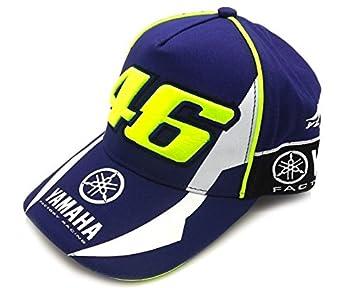 TGH Gorra Valentino Rossi VR46 Yamaha Factory Racing Moto GP  Amazon.es   Coche y moto bd458d8db1c