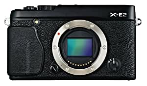 Fujifilm X-E2 16.3 MP Mirrorless Digital Camera with 3.0-Inch LCD - Body Only (Black)