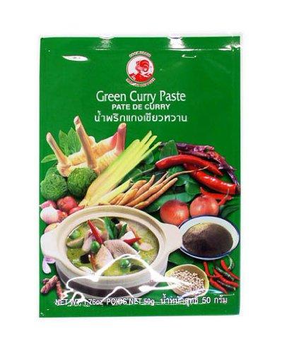 Cock Currypaste, grün, 6er Pack (6 x 50 g Packung)