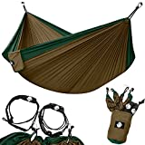 Go Legit Or Go Home      Have you had it up to here with portable camping hammocks that aren't actually very portable?   Have you tried to setup a hammock only to find out the straps weren't included or the ropes were already fraying?   Then ...