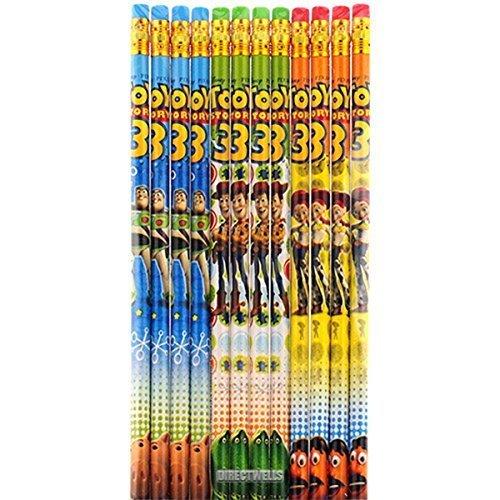 ディズニーおもちゃストーリー本物Licensed 12パック木製鉛筆