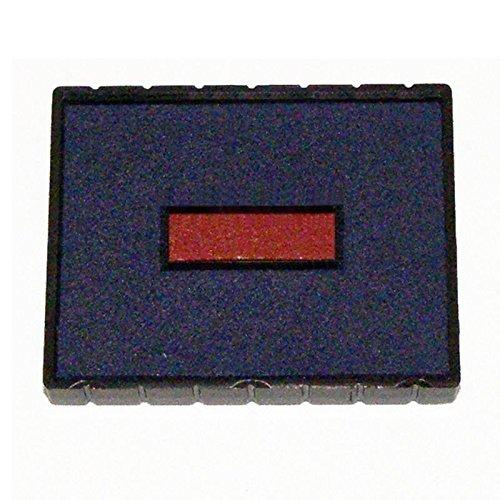 Cosco E/53 Stamp Pad, BLUE/RED Ink for Cosco 2000 Plus Printer 53 & Printer 53 Dater