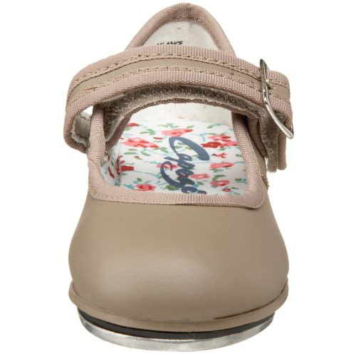 Little Shoe Kid Jane Capezio Mary Kid Tan Big Tap 3800 FBdqRwx