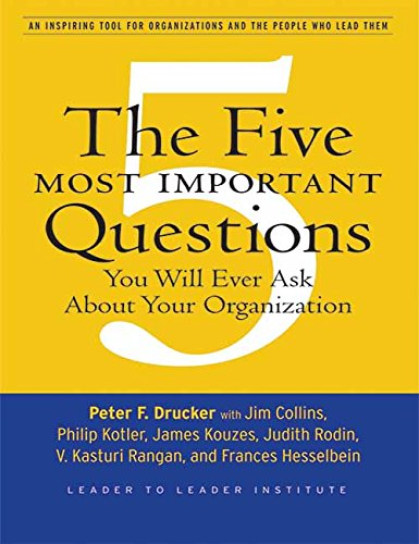 PETER DRUCKERS FIVE MOST IMPORTANT QUES