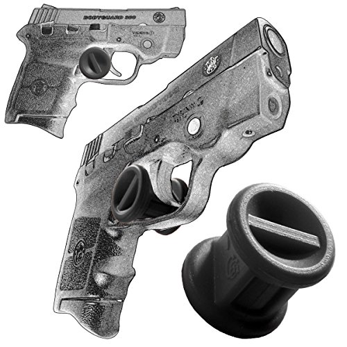 Garrison Grip ONE Micro Trigger Stop Holster Fits Smith & Wesson Bodyguard 380 & M&P 380 s20 Black by Garrison Grip