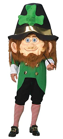 Amazon.com: UHC Unisex Comical Leprechaun St Patty's Day Funny ...
