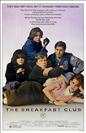 Image result for Breakfast Club Movie Poster