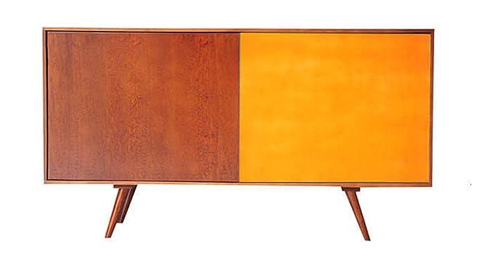 Credenza Bassa Con Ante Scorrevoli : Credenza madia cassettiera in legno con porte scorrevoli dal