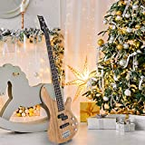 GLARRY Bass Guitar Full Size 4 String Exquisite