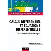 Calcul différentiel et équations différentielles : Cours et exercices corrigés (Mathématiques appliquées pour le Master/SMAI) (French Edition)