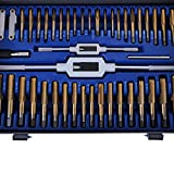 Happybuy 86PC Tap and Die Set Combination Metric