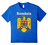 Romania National T%2Dshirt %2D Coat of A