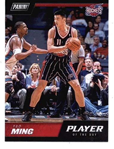 - 2018-19 Panini Player of the Day NBA Legends #LEG1 Yao Ming NBA Basketball Card NM-MT