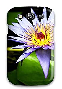 Brahodes RophIgZ24861fXjby Protective Case For Galaxy S3(lily Flower)