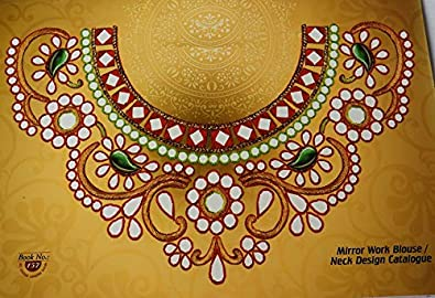 Aari Embroidery Designs Book Mirror Work Tracing Neck Designs For