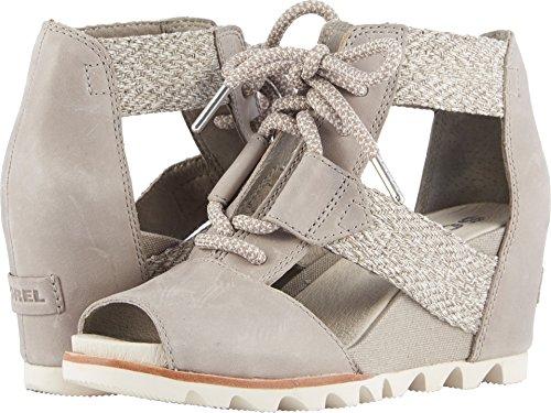 SOREL Womens Joanie Lace Wedge Sandal, Kettle, Size 6.5