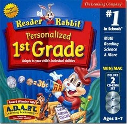 Amazon.com: Reader Rabbit Personalized 1st Grade Deluxe: Video Games