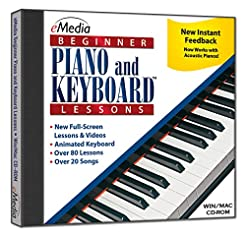 eMedia Beginner Piano and Keyboard Lesso...