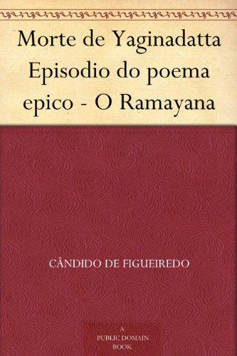 Amazoncom Morte De Yaginadatta Episodio Do Poema Epico O