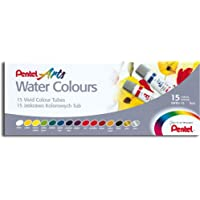 Pentel WFRS 15 tubos de colores 5ml