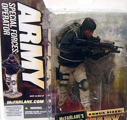 (McFarlane Toys McFarlane's Military Series 5 Army Special Forces Special Operator Action Figure [Unmasked Variant])