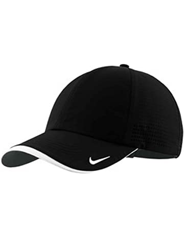 NIKE Authentic Dri-Fit Low Profile Swoosh Embroidered Perforated Baseball  Cap 5aeab8c4839