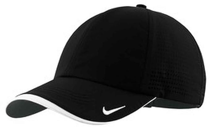 nike dri fit legacy baseball cap golf swoosh perforated black no size heritage mesh toddler