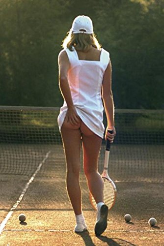 Pyramid America Tennis Girl Bare Bottom Sexy Funny Poster 24
