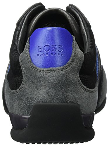 BOSS Green Spacit 10167195 01, Zapatillas para Hombre, Gris (Dark Grey), 39 EU