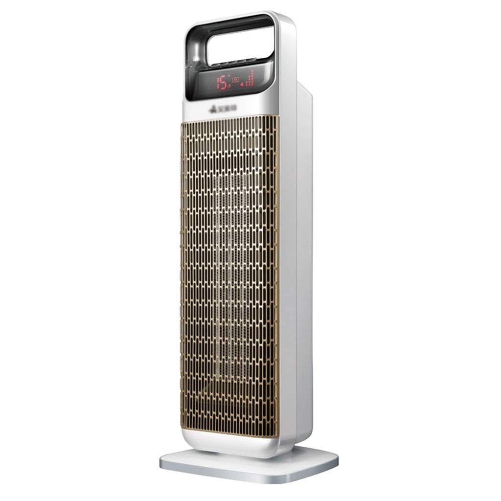 Acquisto riscaldatore Riscaldatore del bagno Riscaldatore elettrico Ventilatore a pavimento a pavimento Ventilatore a torre caldo e freddo (Color : Gray, Size : 17.5 * 66cm) Prezzi offerte