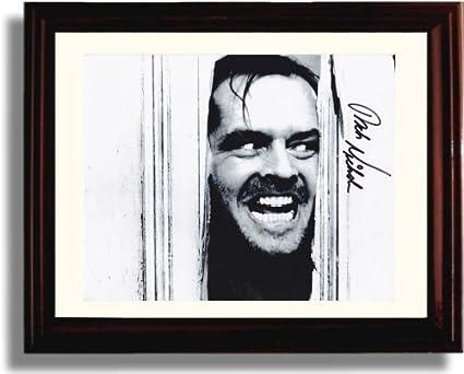 3f3bd8d87683 Amazon.com  Framed Jack Nicholson Autograph Replica Print - The ...