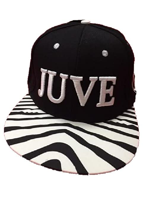 Perseo Cappello Juve Con Visiera Rapper Zebra Bianconera Juventus F.C. PS  01924 4bc0826e936d