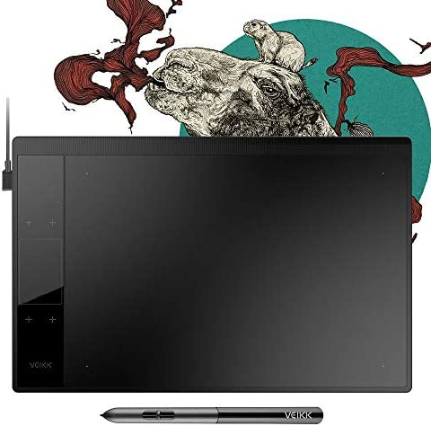 VEIKK Graphics Drawing Tablet Battery Free product image