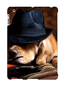 Case For Ipad 2/3/4 Tpu Phone Case Cover(Animal Dog) For Thanksgiving Day's Gift