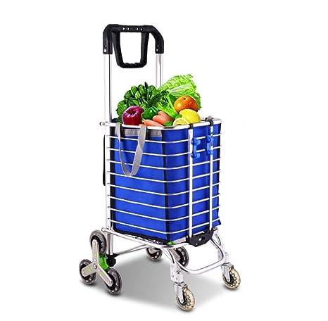 ASJ Carrito De La Compra Plegable, Trolley Dolly, Tiene Capacidad para hasta 60 LB